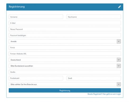 Schritt 1: Erfassung der Stammdaten Ihrer neuen Kunden